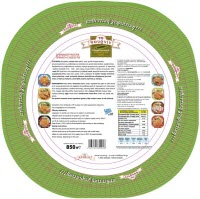 Spinach Cheese Rustic Traditional Pie 850 gr - Super Market