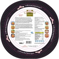 Meat Traditional Pie 850gr - Super Market